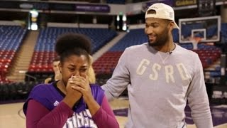 NBA Star DeMarcus Cousins Surprises Family with a Car for Christmas