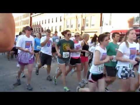 Merrimack County Savings Bank Rock 'N Race 2012 Start