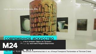 Смотреть видео Выставка Андрея Бартенева проходит на Таганке - Москва 24 онлайн
