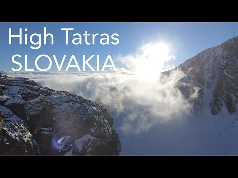 High Tatras, Strbske Pleso, Slovakia by drone DJI Phantom4