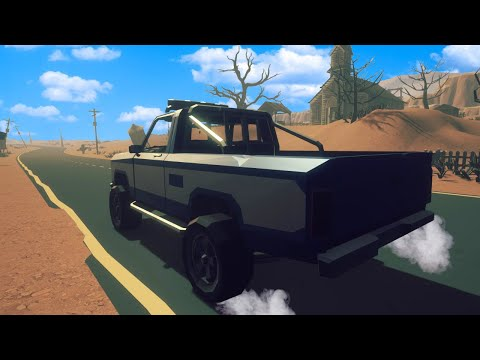 I Drove my Truck through an Empty Desert Looking for Signs of Life in Under The Sand?!