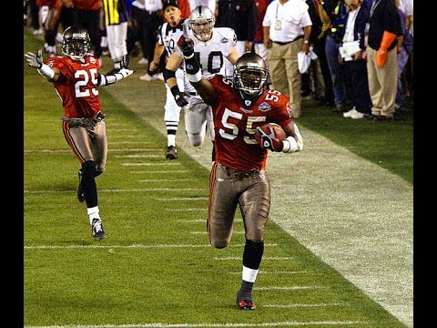 Every Tampa Bay Buccaneers Interception of the 2002 Season