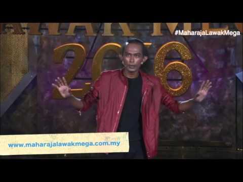 Maharaja Lawak Mega 2016 - Separuh Akhir (Rayza) Pantun