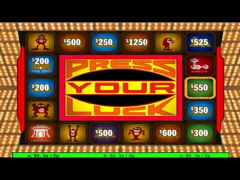Press Your Luck Timeline 85b