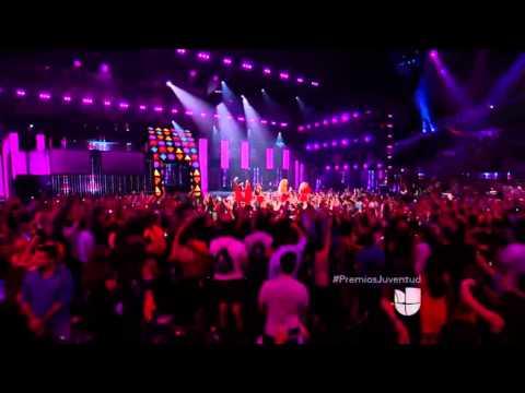 Fifth Harmony - Worth It / Dame Esta Noche (Live @ Premios Juventud 16/07/2015)