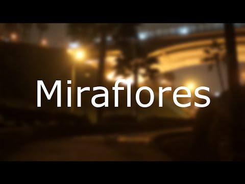 Time-lapse Miraflores at night - Lima, Peru (unofficial)
