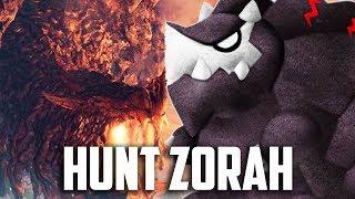 HUNT ZORAH MAGDAROS! Monster Hunter World Gameplay Part 19 - Walkthrough Part 19 (PS4 PRO)