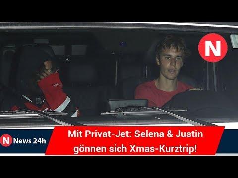Mit Privat-Jet: Selena & Justin gönnen sich Xmas-Kurztrip! - News 24h