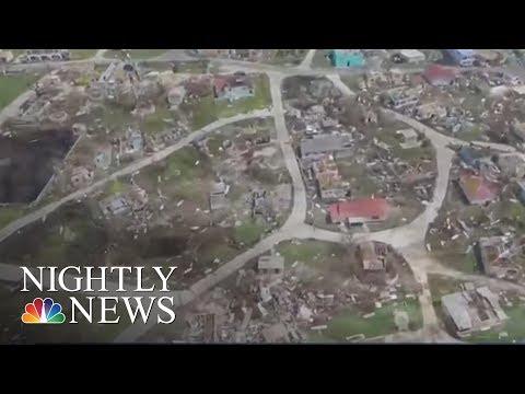 Hurricanes Jose Could Lash East Coast As Hurricane Maria Heads Toward Caribbean | NBC Nightly News