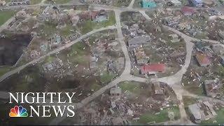 Hurricanes Jose Could Lash East Coast As Hurricane Maria Heads Toward Caribbean   NBC Nightly News