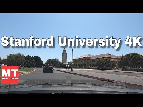 Stanford University Palo Alto, California USA - Silicon Valley Drive 🏆