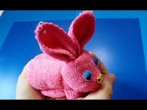 Как Сделать Пасхального Кролика из Салфетки Своими Рукам Декор Пасхального стола поделки к пасхе/DIY