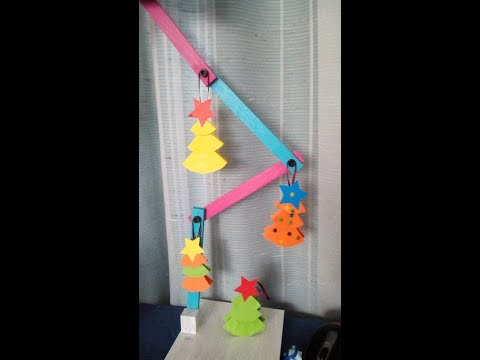 DIY Paper Christmas Tree decoration or ornament