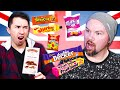 Americans Try Weird British Snacks for the First Time!