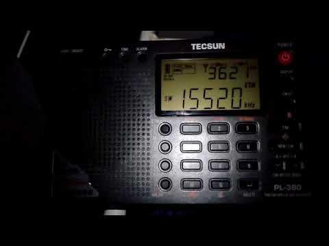 Radio Exterior España 15520Khz - Tecsun PL-380 - Romania/Bucharest