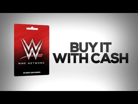 Get the WWE Network Prepaid Card: Available at Walmart, Best Buy, GameStop and 7-Eleven