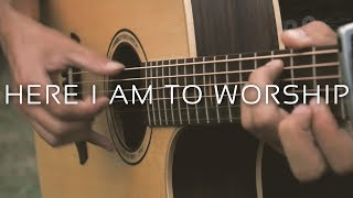 Download Here I Am To Worship - Tim Hughes (Fingerstyle Guitar Cover by Albert Gyorfi) [+TABS] Mp3 and Videos