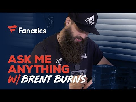 Ask Brent Burns Anything: Disney movies, missing teeth, and beard struggles | #FanaticsAMASeries
