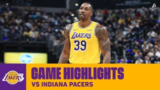 HIGHLIGHTS | Dwight Howard (20 pts, 6 reb) vs Indiana Pacers