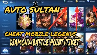 CARA CHEAT BATTLE POINT + DIAMOND + TIKET MOBILE LEGENDS BANG BANG 2020