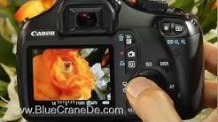 Fotografieren mit der Canon 1100D