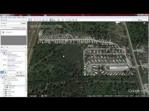 Finding Historic Search Locations On Google Earth