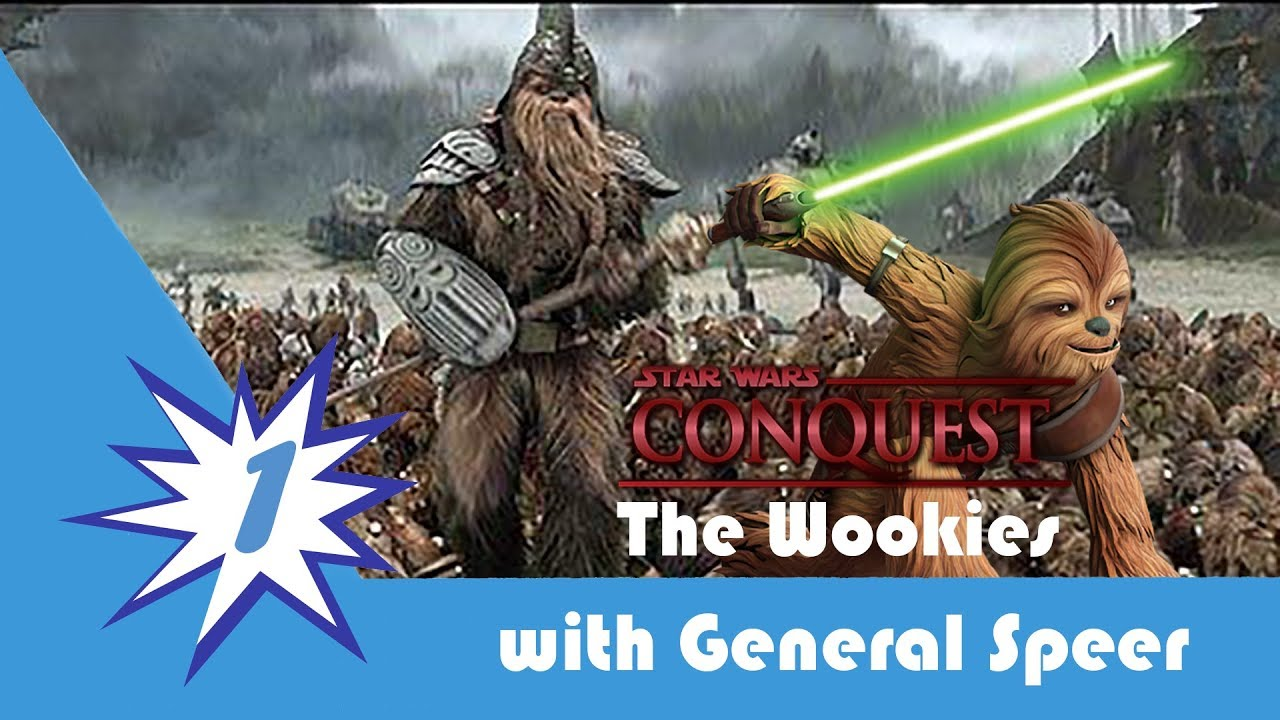 Star Wars Conquest The Rise Of The Wookiees Episode 1 Gungi The Wise Youtube In addition, zatt and byph are barefoot when outside of their cold weather gear. star wars conquest the rise of the wookiees episode 1 gungi the wise