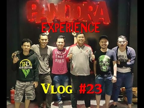 VLOG #23 || PANDORA EXPERIENCE - Ultimate Reality Escape Game