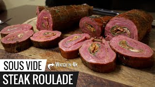 Sous Vide STEAK ROULADE Experiment!