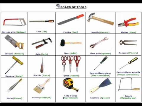 Board of tools tablero de herramientas youtube - Tablero de herramientas ...