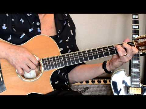 Bette Midler - The Rose - Solo Guitar Michael Morioka