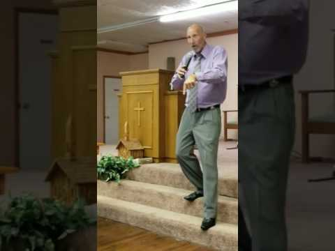 First night of Revival SAVING GRACE MINISTRIES Pastor Gary Grubbs part 1