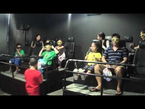 Phim 5D dành cho các bé tại Kizworld