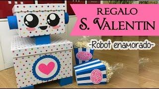 Regalo San Valentin - Caja Robot