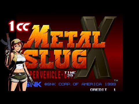Metal Slug X(メタルスラッグX) 1cc no-miss