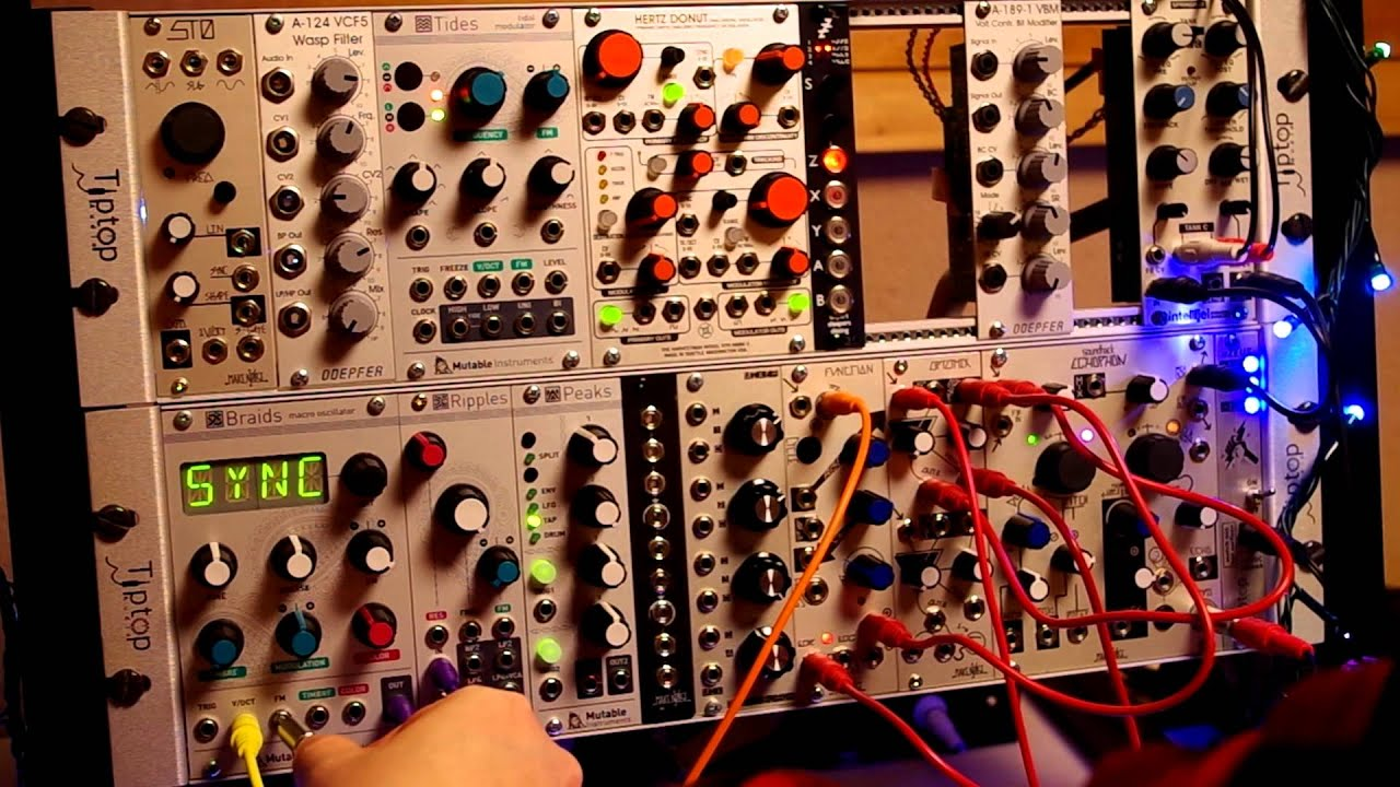 tutorial using the analog four to control a modular synth part 3 parameter locks youtube. Black Bedroom Furniture Sets. Home Design Ideas