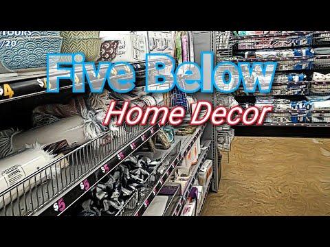 Five Below Home Decor - YouTube