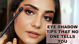 EYESHADOW TECHNIQUES THAT NO ONE SHARES | BRUSHES & BLENDING TIPS | SIMMY GORAYA