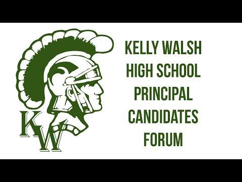 Kelly Walsh High School Principal Candidates Forum - Feb. 1, 2018