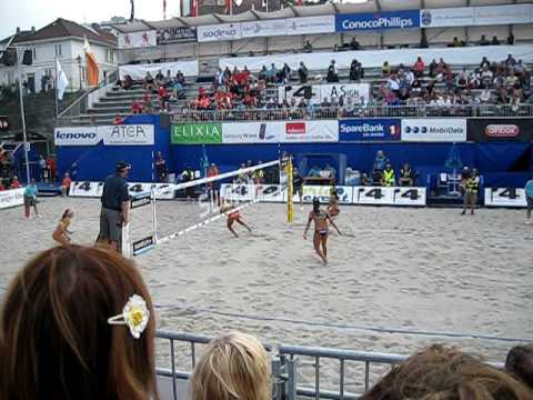 Women's Final ConocoPhillips Beach Volleyball World Tour 2010, Stavanger