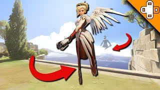 WTF? No Legs Glitch? Overwatch Funny & Epic Moments 569