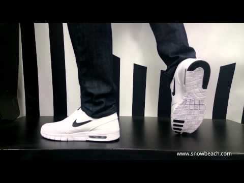 nike shox inferno purple - NIKE SB STEFAN JANOSKI MAX white black 631303 100 - YouTube