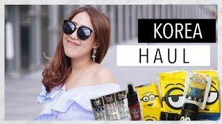 #HAUL เปิดถุงช้อปเกาหลี มีอะไรน่าซื้อจัดมาหมด! | EARTHPYNN