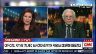 CNN Cuts Off Bernie Sanders After He Calls Them