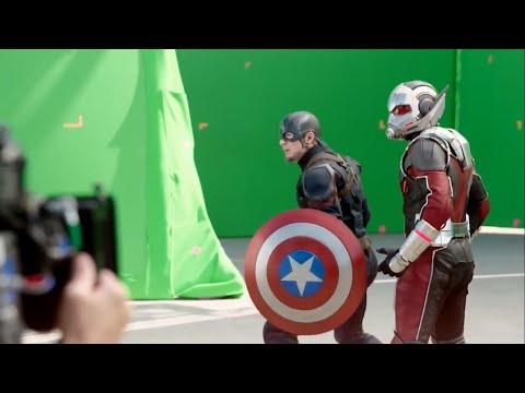 Съемки фильма Первый Мститель Противостояние (Гражданская война) Filming Captain America: Civil War