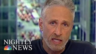 Jon Stewart Blasts Sen. Rand Paul For Blocking 9/11 Victims Bill | NBC Nightly News