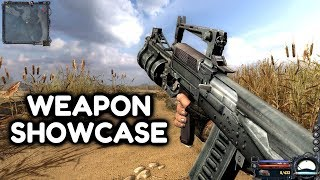 STALKER Clear Sky - ALL WEAPONS Showcase