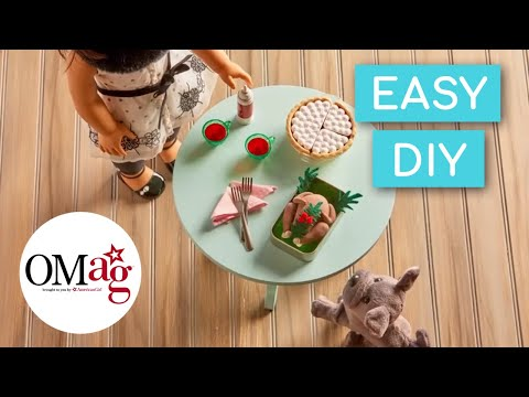Mini Thanksgiving Turkey For Your Doll | Doll DIY | American Girl