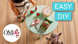 Thanksgiving Turkey for Dolls | OMaG | American Girl