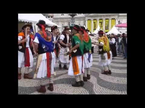 Canedo - Pauliteiros Mirandeses de Palaçoulo no XI Festival Internacional da Máscara Ibérica